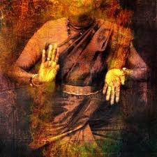 Hands in dance for Shiva with give and take mudra
